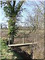TL9056 : Footbridge by Keith Evans