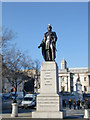 TQ2980 : Statue of Charles James Napier, Trafalgar Square, London, SW1 by Christine Matthews