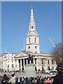 TQ3080 : Trafalgar Square and St Martin-in-the-Fields by Christine Matthews