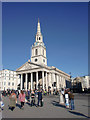 TQ3080 : St Martin-in-the-Fields, Trafalgar Square, London SW1 by Christine Matthews