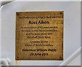 Photo of Brass plaque № 43939