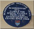 Photo of Scarborough Spa blue plaque
