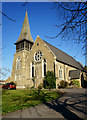 TQ2670 : Christ Church, Colliers Wood by Peter Trimming
