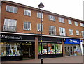 SO9570 : Bromsgrove High Street  Waterstone's &amp; Boots Opticians by Roy Hughes