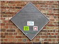 TQ3227 : Balcombe Ouse Valley Viaduct Plaque on Pier by Robert Skipworth