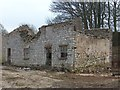 SK1371 : Ruined limestone house in Priestcliffe by Neil Theasby
