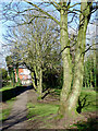SO9097 : Footpath to Penn Road, Wolverhampton by Roger  Kidd