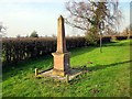 SJ4658 : Commemorative Monument, Handley by Jeff Buck