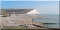 TV5197 : Rebuilding Cuckmere Haven beach by Oast House Archive