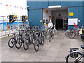 SW9275 : Bike hire, Padstow by David Hawgood