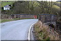 SN9780 : The railway bridge at Tylwch by Nigel Brown