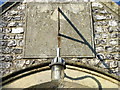 SU2741 : Sundial, St Leonard's Church by Miss Steel