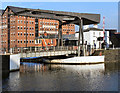 SO8218 : Llanthony Bridge, Gloucester Docks by David Dixon