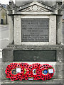 ST7593 : War Memorial Dedication by David Dixon