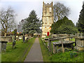 ST6899 : St Mary's Church Tower by David Dixon