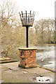 SK9668 : Boultham Park beacon by Richard Croft