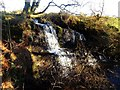 NS7963 : Clattering Burn, waterfall by Robert Murray