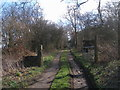 SE2900 : Farm access and footpath to Clappers by John Slater