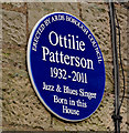 Photo of Ottilie Patterson blue plaque