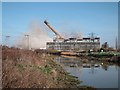 TR3362 : Demolition of Richborough Towers 9 by Oast House Archive