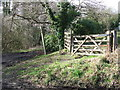 TL8835 : Gate And Footpath Sign by Keith Evans