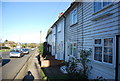 TQ7551 : Weatherboarded cottages, A229 by N Chadwick