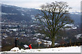 SE0025 : A lone tree above Mytholmroyd by Phil Champion
