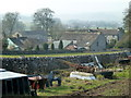 SK1169 : Farm and village scene, Chelmorton by Andrew Hill