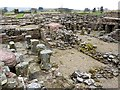 NY7666 : Military Bath House, Vindolanda Roman Fort by Andrew Curtis