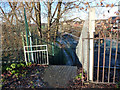 SJ8293 : The top of Twenty-Seven Steps, Mauldeth Road West, Chorlton by Phil Champion
