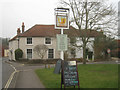 SU5258 : Pub sign - Kingsclere by SJB