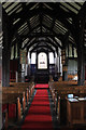 SJ8567 : Timber framed nave by Peter Turner