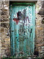 NZ3469 : Door by Christine Westerback