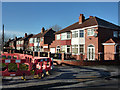 SJ8192 : 1930s houses at the end of Hardy Lane, Chorlton by Phil Champion