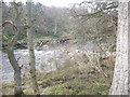 NO6995 : A weir-like restriction to the width of the River Dee by Stanley Howe