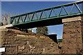 J4471 : New footbridge, Comber Greenway (2) by Albert Bridge