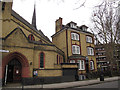 TQ3278 : English Martyrs Presbytery, Walworth by Stephen Craven