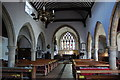 TQ4823 : Interior, St Margaret's church, Buxted by Julian P Guffogg