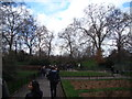 TQ2877 : View of the garden in Battersea Park by Robert Lamb