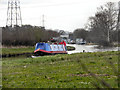SJ7186 : Narrowboat, Bridgewater Canal by David Dixon