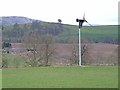 NO3353 : Wind turbine at Cairnleith Farm by Oliver Dixon