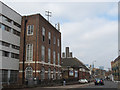 TQ3977 : East Greenwich Telephone Exchange by Stephen Craven