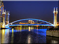 SJ8097 : Lowry Bridge, Salford Quays by David Dixon