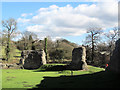 SP9908 : The South East Corner from the Lodge, Berkhamsted Castle by Chris Reynolds