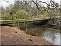 SJ8283 : Farm Bridge, River Bollin by David Dixon