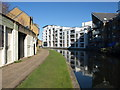 TQ2482 : Buildings by the Grand Union Canal by Derek Harper