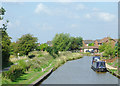 SJ8057 : Trent and Mersey Canal at Thurlwood, Cheshire by Roger  Kidd