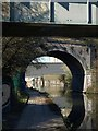 TQ2182 : Towpath beneath canal bridges near Harlesden by Derek Harper