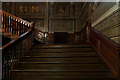 TQ2549 : The staircase, Holbein Hall, Reigate Priory by Ian Capper