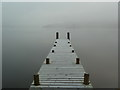 NY3817 : New jetty at Inn on the Lake, Glenridding by Alexander P Kapp